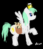 My litle Pony OC Cloudy Sparks by Amaya-Fanel