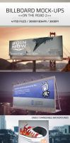 simple Billboard Mock up II by Ghostestudios