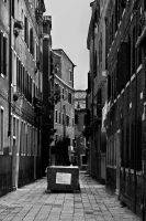 Venice: box in the street by Koljan