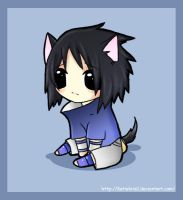 Sasuke Kitty Cutenss 2 the max by KteaCrumpet