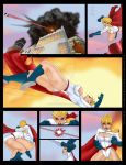 Power Girl Vs PowerGirl? Part 2 by darkthewise
