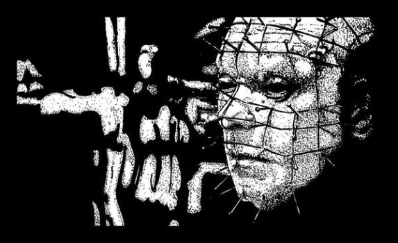 Stippling with pinhead by BeardoMcWeirdo