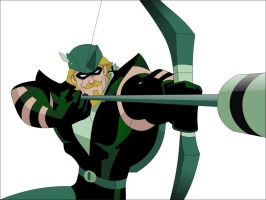 Green Arrow by els3bas