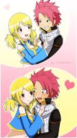 NaLu flirting by xxSamChan