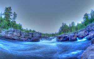 Pabineau Falls (HDR) V.02 2013 by PascalsPhotography