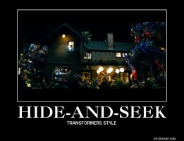 Hide-And-Seek: Transformers Style by iFilipina0723