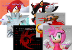 Sonic-themed Winamp Skins Pack by TrishRowdy