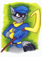 Sly Cooper by Kellalizard