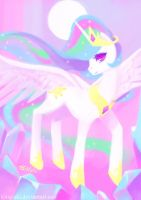 Princess Celestia by alaskaYU