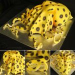 Blue-ringed Octopus Cake by cakecrumbs