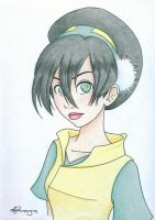 Earthbender Toph by Tella-in-SA