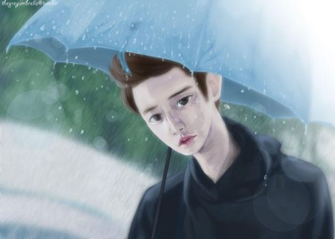 EXO. In the Rain by greyeille