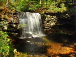 Ricketts Glen State Park 49 by Dracoart-Stock