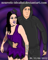 .:Daffney And Reaper:. by Neurotic-Idealist
