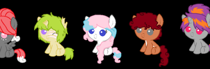 100 Themes Pony Adoptables 26 To 30 by nerixxon