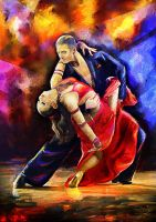 Paso Doble To Beat by KreksofinArt