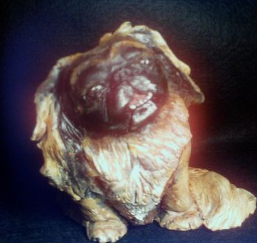 Pekingese Dog Sculpture Bingo by Zorky