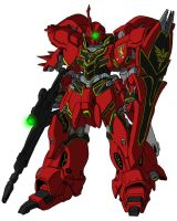 MSN-06S Sinanju by unoservix