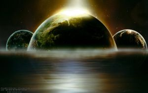 Planet Rising by 5p34k