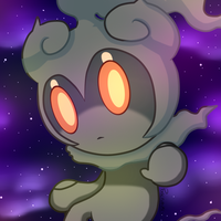 Marshadow by pokefubuki