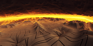 Paladium - The ancient desert by KPEKEP