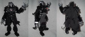 Bionicle Self Moc: Kylfu the Shadow Warrior by lbpfan21