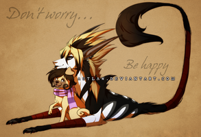 Don't worry, be happy by Autlaw