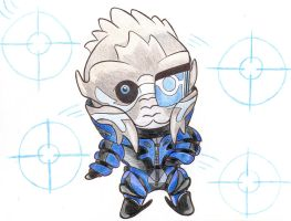 Mass Effect - Garrus by Lilaaku