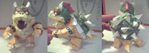 Bowser Papercraft by ganon-destroyer