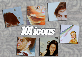 101 icons by iconmaker91