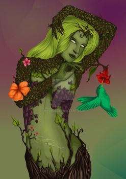 Commission: Dryad by Nyx601