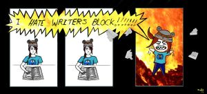 HATE WRITER'S BLOCK by Kezzy-Wezzy-25