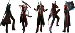 DMC4 Official Arts, Renders by Rehman-1999