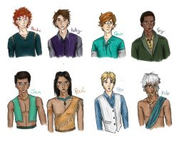 Disney gender swap by CloudedInfluence