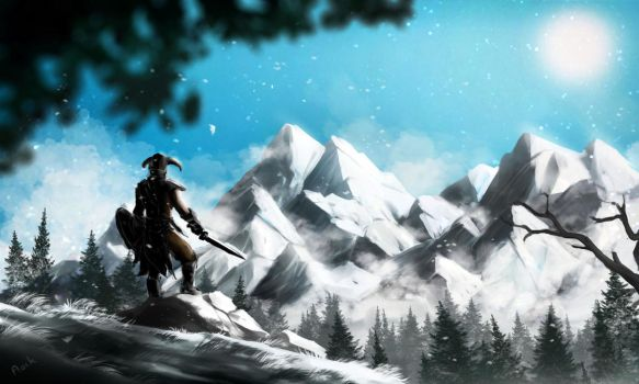 Journey of Dovahkiin by Aosk26