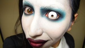 - *3rd* Marilyn Manson - Makeup 3 by KisaMake