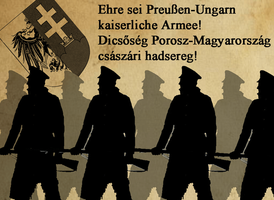 Prussia-Hungary Imperial Army Posters by otakumilitia