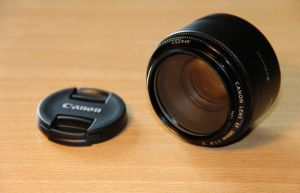 Canon lens 50 mm f/1.8 with UV-filter ... by Joshua-Mozes