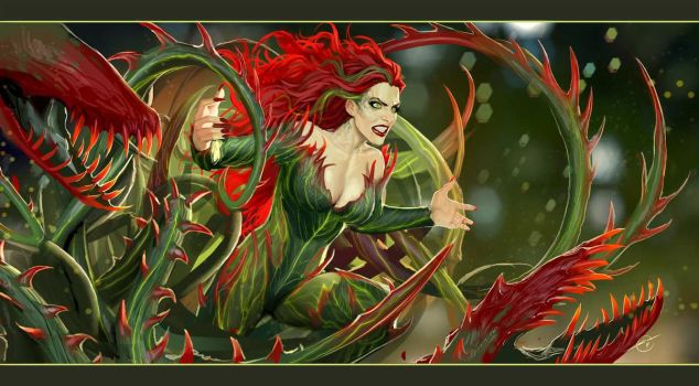 poison ivy by nebezial