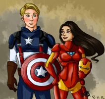 We Make A Great Team by naomi-makes-art73