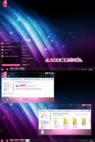desktop windows 7 XD by jessy-izan