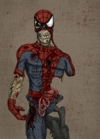 Marvel Zombie : Spider-Man. by Crow-Dreamer