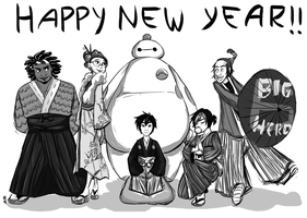 BH6- Happy New Year! by Velvet-Crown