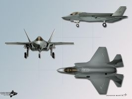 JSF USAF aircraft by weebly