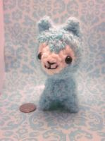 Cute Wee Little Kawaii Arpakasso Alpacasso Alpaca by Spudsstitches