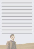 Tenth Doctor with Sunglasses Stationery by pfeifhuhn