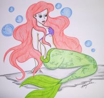 Ariel, The Little Mermaid. by eggsy83