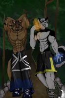 Raver walk by TremorWolf