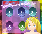 Imitation Hyper Dimension Neptunia Eyes by TeamVocaloid