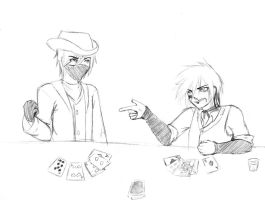 937 and Pierce - Card Games by FuyusFox
